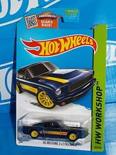 Hot Wheels 2015 Super Treasure Hunt Then And Now '65 Mustang 2+2 Fastback Blue