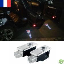 2 logo Audi SLINE led projecteur sol laser A1 A2 A3 A4 A5 A6 A7 A8 ampoule