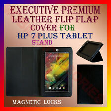 ACM-EXECUTIVE LEATHER FLIP FLAP CASE for HP 7 PLUS TABLET  FULL COVER STAND NEW