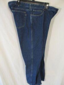 CABELAS 100% Cotton 44 x 32 Classic  Fit  Dark Rinse Blue Jeans