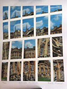 Brendan Neiland Original Silkscreen Print, Peck water Christchurch Ltd Edition