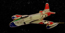 P-80 SHOOTING STAR LAPEL HAT PIN UP US AIR FORCE AFB PILOT AIRCREW FIGHTER JET