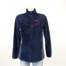 JACK WOLFSKIN Teddy Fleece Plusch Jacke Outdoor Blau Pink Gr. M 38