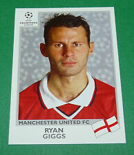 N°131 GIGGS MANCHESTER UNITED FC PANINI FOOTBALL CHAMPIONS LEAGUE 1999-2000