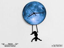 Circus Woman 2 - Pendulum Wall Clock