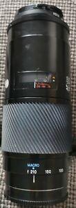 Minolta 70-210 AF camera lens