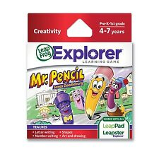LEAPFROG LEAPSTER LEAPPAD EXPLORER MR PENCIL SAVES DOODLEBURG GAME