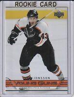Lars Jonsson 2006-07 Upper Deck Young Guns Rookie Hockey Card #482