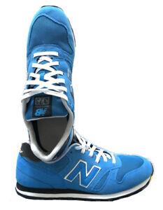 Basket Daim New Balance 373 Suede Sneaker M373LB Bleu / Eur 45 US 11 UK 10,5