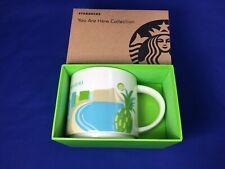 Starbucks YOU ARE HERE Coffee Mug WAIKIKI Hawaii NEW IN BOX Multiple Available