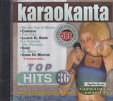 Belanova OV7 Zoe Aventura Rio Roma Top Hits 36 Karaokanta Karaoke New Sealed