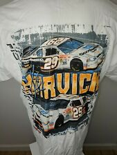 KEVIN HARVICK #29 EXTREME POWER WHITE TWO-SIDED T-SHIRT SIZE XL NEW 2 Sided