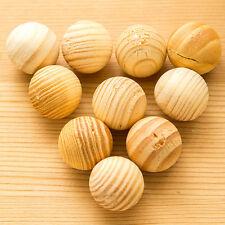 New listing New 5Pcs/Pack Wooden Natural Sandalwood Ball Wardrobe Pest Control Mothproof