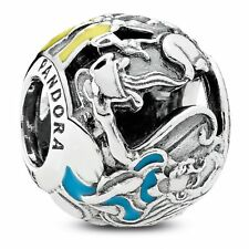 Pandora Genuine Disney Alice in Wonderland Tea Party Charm 791896ENMX S925 ALE