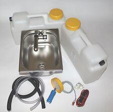 12V Mini Cuisine �‰tal Kit de Montage �‰vier 325x265x150mm Barwig Chrome Intégré