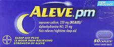Aleve PM Tablets 80ct Tablets -Expiration Date 12-2018-