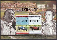H99) Bloc ST VINCENT Timbres Neufs MNH / VOITURES-CARS-AUTOMOBILES Gurney & Hill