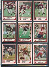 1984 JOGO SeriesI CFL Football Cards #55-108MINTU-Pick Holloway Watts Clement