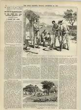 1891 Hartley Hill Mining Settlement Panning For Gold Pantomime Reports