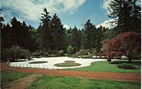 Postcard Washington Park Japanese Garden Portland Posted 1971