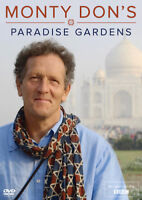 Monty Don's Paradise Gardens DVD (2018) Monty Don cert E ***NEW*** Amazing Value