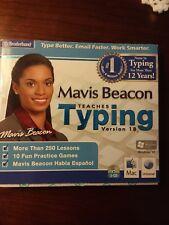 Mavis Beacon Typing Version 18