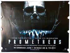 PROMETHEUS (2012) - UK Quad - RIDLEY SCOTT - 100% original poster -