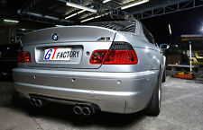 NEW FOR BMW E46 M3 ONLY FULL CARBON REAR DIFFUSER SPOILER CSL STYLE