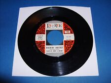 "ROCKABILLY - CARLO and JIMMY ""ROCKIN' ROCKET"" LAURIE-3063 VG+ ORIGINAL 45 RPM"