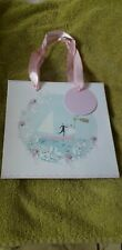 SMALL WHITE GIFT BAG...VGC *NEW* THANK YOU WEDDING ETC