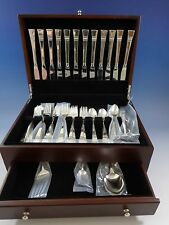 Diadem by Reed & Barton Sterling Silver Flatware Service 12 Set 54 Pcs Modernism
