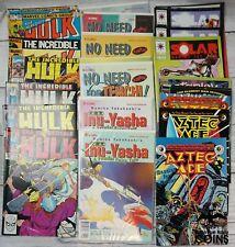 Lot of 190+ Assorted Comics Dc Image Marvel Hulk Legion Swamp Thing, & More!