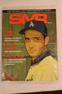 PSA SMR Sports Market Report May 2019 Sandy Koufax. Vol#298  MIP Dodgers