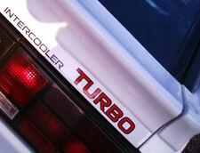New 1986-1989 Mitsubishi Starion INTERCOOLER TURBO WideBody Rear Hatch Decal EX