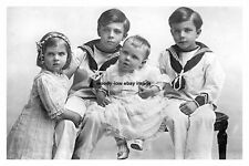mm900 - Swedish Royal Children - Royalty photo 6x4