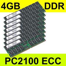Netlist 4 Go DDR PC2100 266 MHz ECC nl9127rd64042-d21h