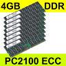 4GB PC2100 DDR ECC RAM HP/Compaq ProLiant ProLiant DL580 G2 HP XW6000