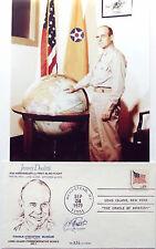 Jimmy Doolittle Signed Commomerative Cover Doolittle Raid Commander M.O.H   #5