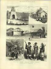1883 los franceses en Cochin China ciudadela Hue soldados ministros residencia