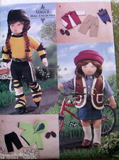 "VOGUE Linda Carr doll clothes 18"" rollerblade outdoor wear backpack helmet"