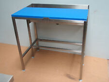 FISH MONGERS FILLETING CUTTING TABLE BENCH TABLE STAINLESS STEEL SEA FISHING