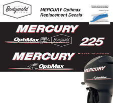 Mercury Optimax 225hp outboard decals 2008 Onwards
