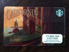 "Starbucks ""CALIFORNIA REDWOODS 2016"" Gift Card - New No Value"