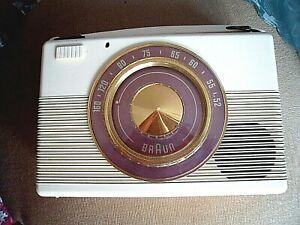 Röhrenkofferradio -Braun-