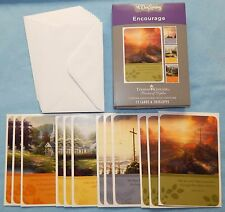 Box of 12 Encouragement Cards by Thomas Kinkade {DaySpring 74875} - New