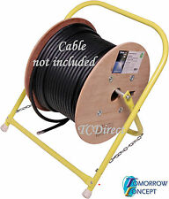 Portable and Foldable Electrician Cable Reeler Stand for drum roller cable