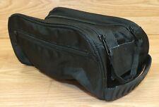 Genuine AXE Men's Black Medium Sized Toiletry Travel Bag w/ Zip Open Pocket