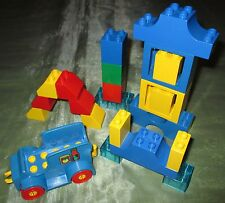 Lego Duplo Auto Oldtimer Flaschentransport Lieferwagen au 1027 2623 Truck Steine