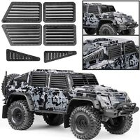 Front & Side Window Guard Body Shell For 1/10 Traxxas TRX-4 Tactical Unit Body