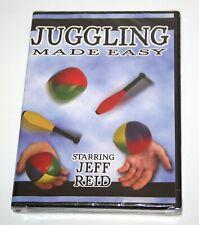 Juggling Made Easy DVD become  great juggler event entertainer clown Jeff Reid